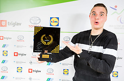 Marino Kegl during Slovenian Disabled Sports personality of the year 2017 event, on December 6, 2017 in Austria Trend Hotel, Ljubljana, Slovenia. Photo by Vid Ponikvar / Sportida
