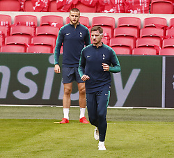 May 7, 2019 - Amsterdam, Holland, Netherlands - Tottenham Hotspur's Jan Vertonghen with mask..during Tottenham Hotspur training session ahead of the UEFA Championship League Semi- Final 2nd Leg between Ajax and Tottenham Hotspur at Johan Cruyff Arena Stadium , Amsterdam, Netherlandson 07 May 2019. (Credit Image: © Action Foto Sport/NurPhoto via ZUMA Press)