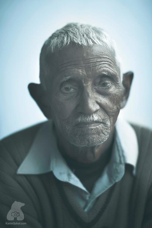 Old man,Una, Himachal Pradesh, India.