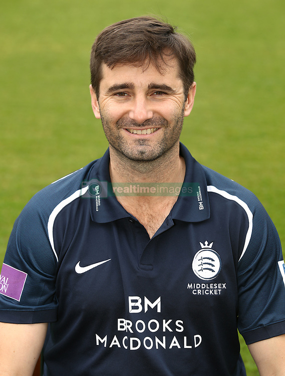 Middlesex's Tim Murtagh  during the media day at Lord's Cricket Ground, London.