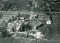 "1922 Aerial filming of ""Robin Hood"" at Pickford Fairbanks Studios"