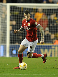 Aden Flint of Bristol City - Mandatory byline: Dougie Allward/JMP - 08/03/2016 - FOOTBALL - Molineux Stadium - Wolverhampton, England - Wolves v Bristol City - Sky Bet Championship