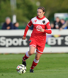 Bristol Academy's Loren Dykes - Photo mandatory by-line: Paul Knight/JMP - Mobile: 07966 386802 - 09/05/2015 - SPORT - Football - Bristol - Stoke Gifford Stadium - Bristol Academy Women v Arsenal Ladies FC - FA Women's Super League