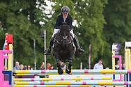 Priorspark Opposition Free ridden by Eliza Stoddart in the Equi-Trek CCI-4* Show Jumping during the Bramham International Horse Trials 2019 at Bramham Park, Bramham, United Kingdom on 9 June 2019.