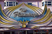 The Flamingo amusement arcade sign, Great Yarmouth, Norfolk, England