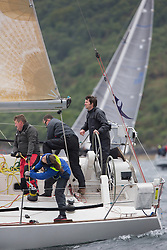 Day one of the Silvers Marine Scottish Series 2016, the largest sailing event in Scotland organised by the  Clyde Cruising Club<br /> Racing on Loch Fyne from 27th-30th May 2016<br /> <br /> GBR1121L, Tangaroa, Eliz & Des Balmforth, CCC, Pronavia 38<br /> <br /> <br /> Credit : Marc Turner / CCC<br /> For further information contact<br /> Iain Hurrel<br /> Mobile : 07766 116451<br /> Email : info@marine.blast.com<br /> <br /> For a full list of Silvers Marine Scottish Series sponsors visit http://www.clyde.org/scottish-series/sponsors/
