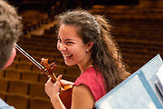 Wellington, NZ. 3 February 2018. NZSO National Youth Orchestra Summer Concert programme at the Michael Fowler Centre.  Photo credit: Stephen A'Court.  COPYRIGHT ©Stephen A'Court