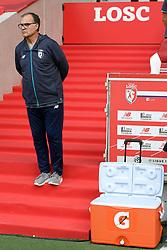 August 6, 2017 - Villeneuve D Ascq, France - Marcelo BIELSA (ENTRAINEUR LILLE) - GLACIERE (Credit Image: © Panoramic via ZUMA Press)