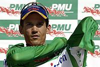 Sykkel<br /> Tour de France 2006<br /> Foto: Dppi/Digitalsport<br /> NORWAY ONLY<br /> <br /> CYCLING - UCI PRO TOUR - TOUR DE FRANCE 2006 - 21/07/2006 <br />                           <br /> STAGE 18 - MORZINE > M†CON - ROBBIE MC EWEN (AUS) / DAVITAMON-LOTTO