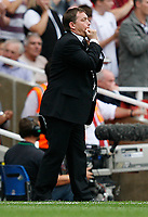 Photo: Steve Bond.<br />Arsenal v Derby County. The FA Barclays Premiership. 22/09/2007. Billy Davies keeps issuing instructions