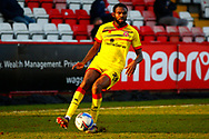 Jayden Reid of Walsall during the EFL Sky Bet League 2 match between Stevenage and Walsall at the Lamex Stadium, Stevenage, England on 20 February 2021.