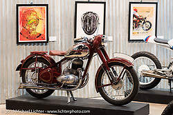 Friday before the grand opening that evening of the Handbuilt Motorcycle Show. Austin, TX. April 10, 2015.  Photography ©2015 Michael Lichter.