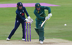 June 15, 2018 - Canterbury, England, United Kingdom - Lizelle Lee South Africa Women.during Women's One Day International Series match between England Women against South Africa Women at The Spitfire Ground, St Lawrence, Canterbury, on 15 June 2018  (Credit Image: © Kieran Galvin/NurPhoto via ZUMA Press)