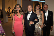 ELIZABETH HURLEY; BOB HURLEY; TAMAR MANOUKIAN; PATRICK COX, The Neo Romantic Art Gala in aid of the NSPCC. Masterpiece. Chelsea. London.  30 June 2015