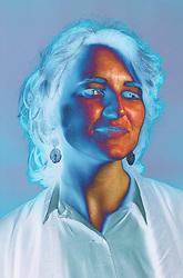 Portrait of woman,