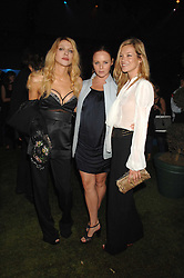 Left to right, COURTNEY LOVE, STELLA McCARTNEY and KATE MOSS at a party to celebryate the launch of the Spring Summer 2008 adidas collection by Stella McCartney held at the Westway Sports Centre, off Latimer Road, London W10 on 20th September 2007.<br /><br />NON EXCLUSIVE - WORLD RIGHTS