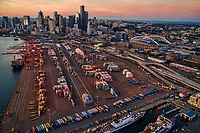 Port of Seattle Terminal & Downtown Seattle