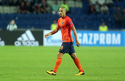 August 16, 2017 - Medipol Basaksehir's Gokhan Inler  during Medipol Basaksehir - Sevilla UEFA Champions League Play - Off 1st round game at Istanbul Fatih Terim Stadium, 16th August, 2017. (Credit Image: © Tolga Adanali/Depo Photos via ZUMA Wire)