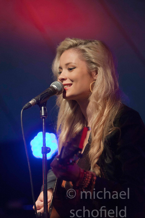Nina Nesbitt at the Howards End tent..Sunday at Rockness 2012..©Michael Schofield..