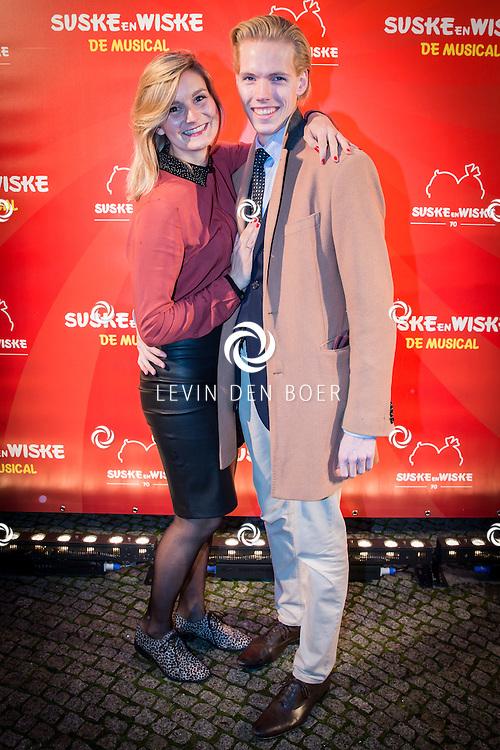 BERGEN OP ZOOM - In het Stadstheater is de musical premiere van Suske & Wiske. FOTO LEVIN DEN BOER - PERSFOTO.NU