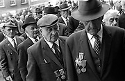 Veterans at the commemoration Mass for Michael Collins. <br />