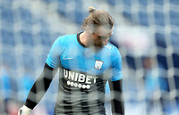 Preston North End's Declan Rudd (left) during the pre-match warm-up <br /> <br /> Photographer Rich Linley/CameraSport<br /> <br /> The EFL Sky Bet Championship - Preston North End v Sheffield Wednesday - Saturday 21st November 2020 - Deepdale - Preston<br /> <br /> World Copyright © 2020 CameraSport. All rights reserved. 43 Linden Ave. Countesthorpe. Leicester. England. LE8 5PG - Tel: +44 (0) 116 277 4147 - admin@camerasport.com - www.camerasport.com