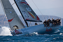 © Sander van der Borch. Alicante - Spain, May 13th 2009. AUDI MEDCUP in Marseille (12/17 May 2009). Race 2,3 and 4. Audi Q8.