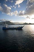 Apia Harbor, Upolu, Western Samoa