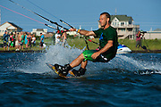 Outerbanks, NC - Billy Parker Kiteboarding at the Triple-S 2011