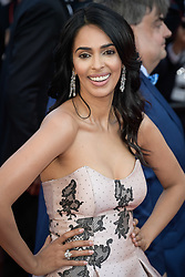 Mallika Sherawat attending the premiere of the film Les Filles du Soleil during the 71st Cannes Film Festival in Cannes, France on May 12, 2018. Photo by Julien Zannoni/APS-Medias/ABACAPRESS.COM