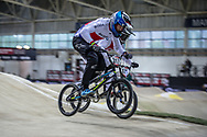#317 (TOPINKA Dominik) CZE during practice at the 2019 UCI BMX Supercross World Cup in Manchester, Great Britain