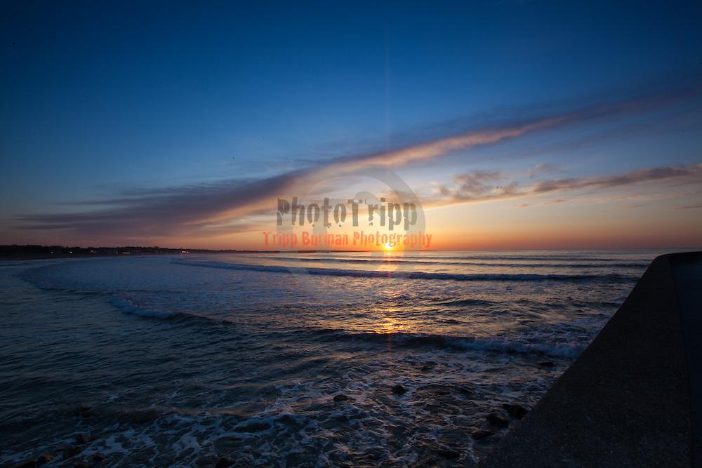 Today's  sunrise  at Narragansett Town Beach, Narragansett, RI,  April  26, 2013.