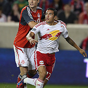 Tim Cahill, New York Red Bulls, in action during the New York Red Bulls V Toronto FC  Major League Soccer regular season match at Red Bull Arena, Harrison. New Jersey. USA. 29th September 2012. Photo Tim Clayton