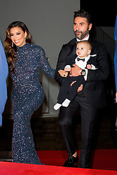 Eva Longoria, her husband Jose Antonio Baston and their son Santiago Enrique attends the Global Gift Gala at Mouton Cadet Winbe Bar during 72nd Cannes film festival on May 20, 2019 in Cannes, France. Photo by Nasser Berzane/ABACAPRESS.COM