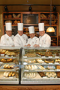 Chefs at the opening of The Bakery at Sullivan University.