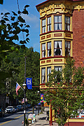 Broadway, Jim Thorpe, Carbon County, PA, USA