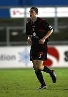 Photo: Paul Greenwood/Sportsbeat Images.<br />Carlisle United v Swindon Town. Coca Cola League 1. 04/12/2007.<br />Swindon's Ben Tozer leaves the field after being Red Carded.