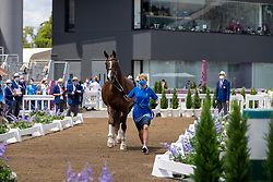 Ellermann Dina, EST, Donna Anna, 127<br /> Olympic Games Tokyo 2021<br /> © Hippo Foto - Dirk Caremans<br /> 23/07/2021