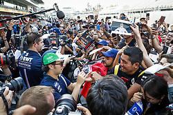 October 25, 2018 - Mexico-City, Mexico - Motorsports: FIA Formula One World Championship 2018, Grand Prix of Mexico, ..#11 Sergio Perez (MEX, Racing Point Force India F1 Team) (Credit Image: © Hoch Zwei via ZUMA Wire)