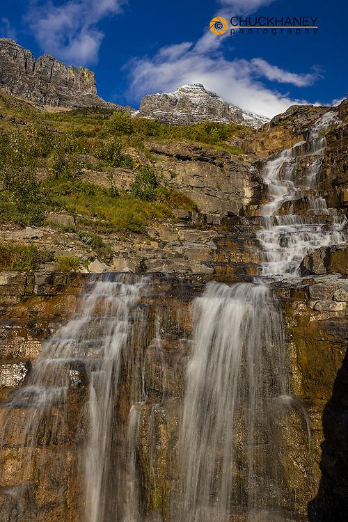 Haystack Creek in Glacier National Park, Montana, USA