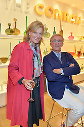 LADY CONRAN and JASPER CONRAN at the launch of the Conran Shop at Selfridge's, Oxford Street, London on 22nd September 2015.