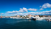 Boats in Zadar Harbor, Dalmatian Coast, Croatia