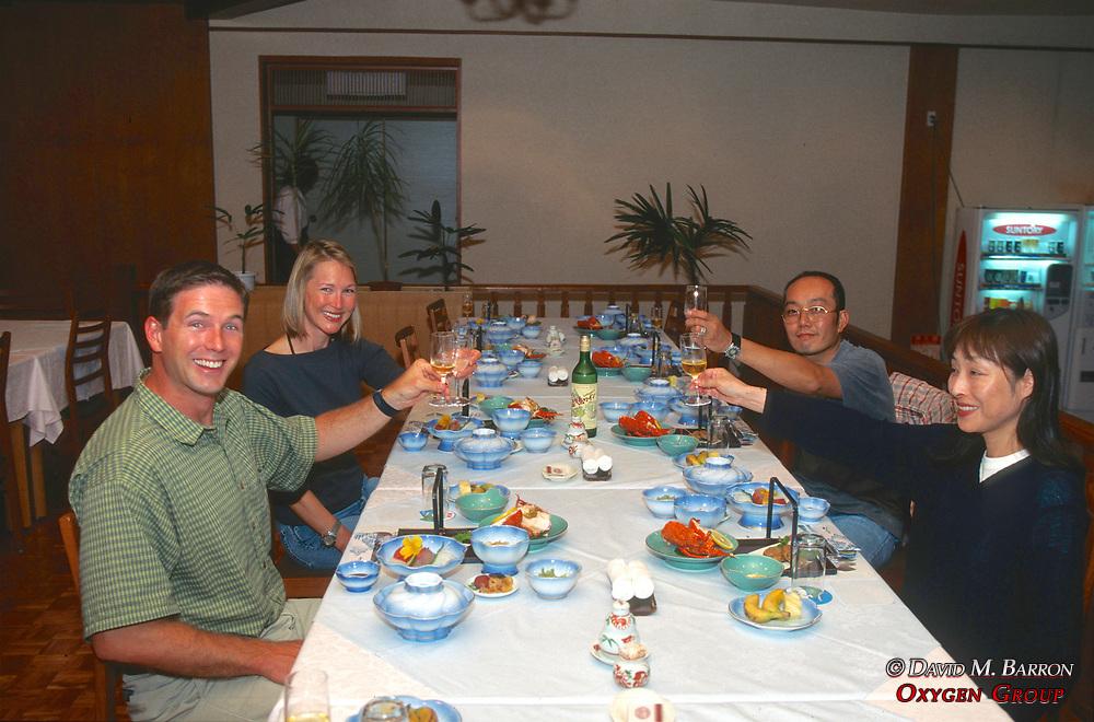 J. & Dana Nichols & Hosts At Dinner