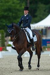 Andrew Hoy (AUS) - Rutherglen <br /> Dressage - CCI4* Luhmühlen 2012<br /> © Hippo Foto - Jon Stroud