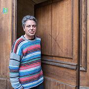 Piccolo Teatro Grassi, Milano, Italia, 29 Marzo 2021. Enzo Contento, 49 anni, macchinista.