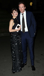 Damian Lewis and Helen McCrory  arriving at the London Evening Standard British Film Awards in London, Monday, 4th February 2013 . Photo by: Stephen Lock / i-Images