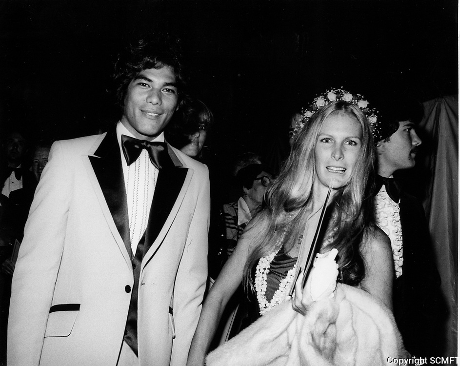 """1979 Dayton Kane and his wife at the premiere of """"Hurricane"""" at Mann's Chinese Theater"""