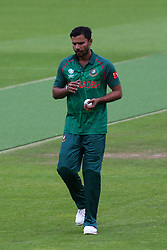 June 5, 2017 - London, United Kingdom - Masrafe Bin Mortaza of Bangladesh. during the ICC Champions Trophy match Group A between Australia and Bangladesh at The Oval in London on June 05, 2017  (Credit Image: © Kieran Galvin/NurPhoto via ZUMA Press)