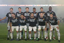 May 25, 2018 - Carson, California, U.S - Team photo of the LA Galaxy prior to their MLS game against the San Jose Earthquakes on Friday May 25, 2018 at the StubHub Center in Carson, California. LA Galaxy defeats the Earthquakes, 1-0. (Credit Image: © Prensa Internacional via ZUMA Wire)