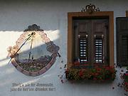 Austria, Tyrol, Innsbruck sundial